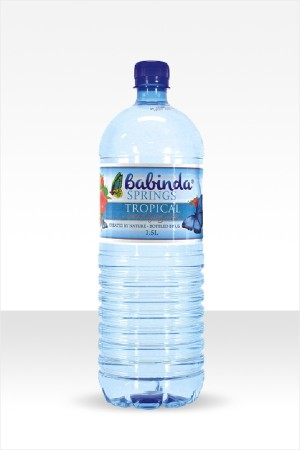 Babinda Springs 1.5L bottle