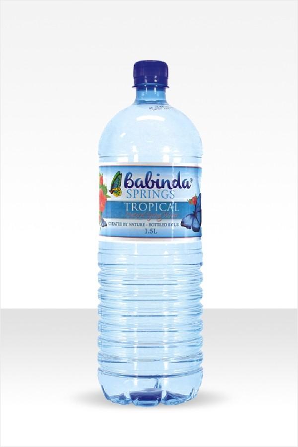 Babinda Springs 1.5L bottle